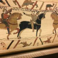 The incredible tapestry at Bayeux depicting the events which lead to the Norman invasion of England   Kate Baker