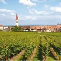Village in Alsace, France   Ewen Bell