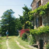 Walking in Auvergne, France