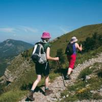 Walking the high trails above the French Riviera
