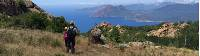 Walking high above the calanques of Piana on a self guided walk in Corsica |  <i>Kate Baker</i>