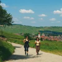 Walkers in Alsace