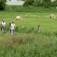 Cycling Germany's quiet rural backroads towards Straslund