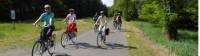 Cyclists enjoying the flat roads during our Berlin Bike & Barge trip