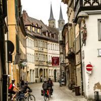 Cycling through historic Bamberg | Tim Charody