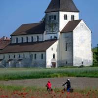 Cycling in Reichenau, Lake Constance