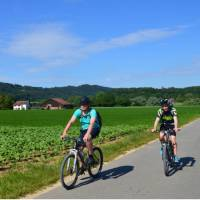 Cycling near Lake Constance | Erin Williams