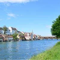 Village en route between Stein am Rhein and Schaffhausen | Erin Williams