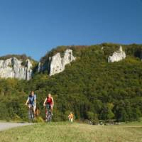Cycling in the Danube Valley in Germany