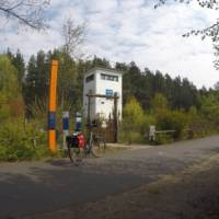 Cycle past old East German watchtowers on the Berlin Wall Trail | Brad Atwal