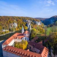 Weltenburg monastery, near Kelheim, along the German Danube   Moritz Kertzscher