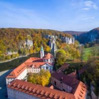 Weltenburg monastery, near Kelheim, along the German Danube | Moritz Kertzscher