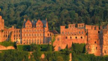 Heidelberg at sunset