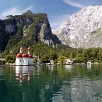 Lake Konigssee in Bavaria, Germany