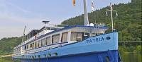 MS Patria, used on the Moselle and Rhine barge and bike tours