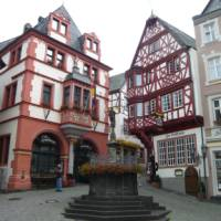 Traditional looking house on Moselle bike and barge   KVS Tours GMBH