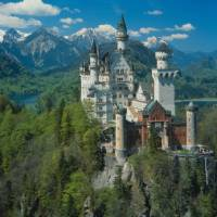 The spectacular Neuschwanstein Castle