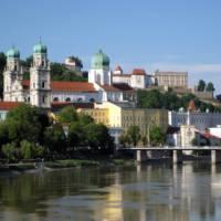 The delightful city of Passau