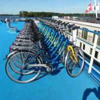 bikes on board the MS Princess