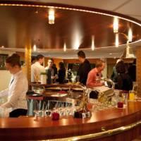 Bar on board the MS Princess