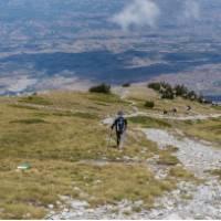 Hiking on Mt Olympus