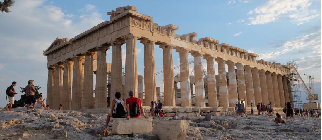 Afternoon on the Acropolis in Athens |  <i>Jaclyn Lofts</i>