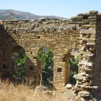 Discover ruins on the Andros Trail