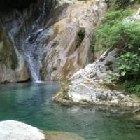The refreshing water holes of the Ennipeas Gorge on Mount Olympus | Kate Baker