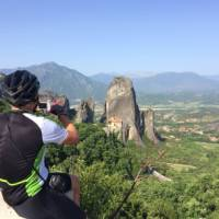 Europe on two wheels   Taking in the magnificent site of Meteora