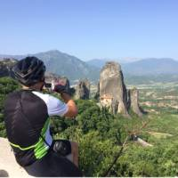 Europe on two wheels | Taking in the magnificent site of Meteora