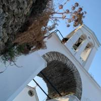 In the charming town of Kochylou on the Andros Trail, Greece | Sarah Baxter
