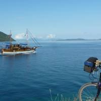 Cycle and sail through the islands of Greece