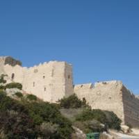Admire the well-preserved fortress in Kritinia, Greece