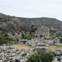 Walking near Lissos, Crete