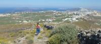 Hiking the trails on Santorini in the Greek Islands |  <i>Hetty Schuppert</i>