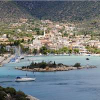 Port town in the Peloponnese