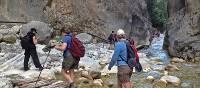 Entering Samaria Gorge, Crete
