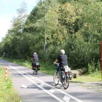 The Meuse Route is a dedicated cycle path between Holland and France