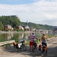 The Meuse Route passes many castles and forts