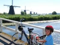 Kids enjoying the family ride in Holland |  <i>Vicki Wasilewska Fletcher</i>