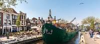 La Belle Fleur moored on a Dutch waterway