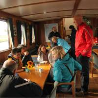 Life on board the barge | Richard Tulloch
