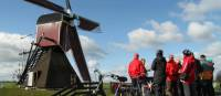 Learn about windmills and more on a guided cycling trip |  <i>Richard Tulloch</i>