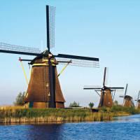 Landscapes of  Windmills