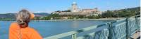 Coming into Esztergom over the Danube |  <i>Lilly Donkers</i>