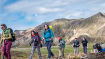 Hike the Laugavegur Trail in the company of a small group and experienced guide