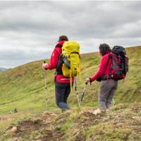 Hike Iceland's best known trail, the Laugavegur Trail, on a guided tour