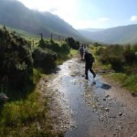 Hiking around the Dingle Peninsula