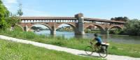 Cycling the Via Francigena between Aosta and Pavia