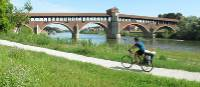 Cycling the Via Francigena between Aosta and Pavia